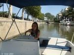 Narbonne - bateau sans permis
