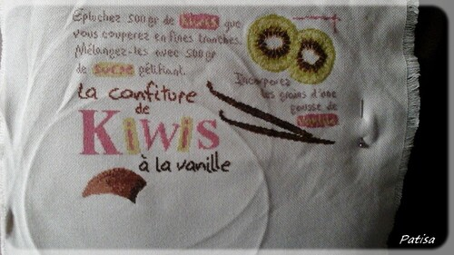 SAL confiture de kiwis - 10eme objectif