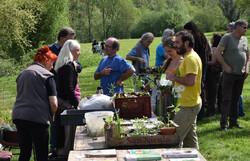 Troc de plants de Vouneuil-sous-Biard le 22 avril 2018