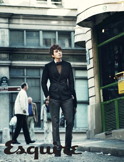 Lee Dong Wook pour Esquire