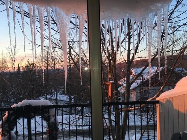 Mon joli Québec sous la neige