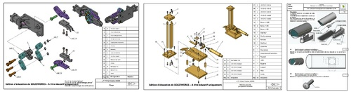 Exercices assemblage Solidworks