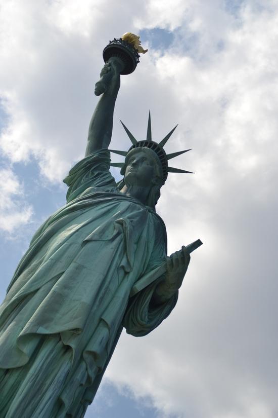 112 - NYC - Liberty island - statue of liberty