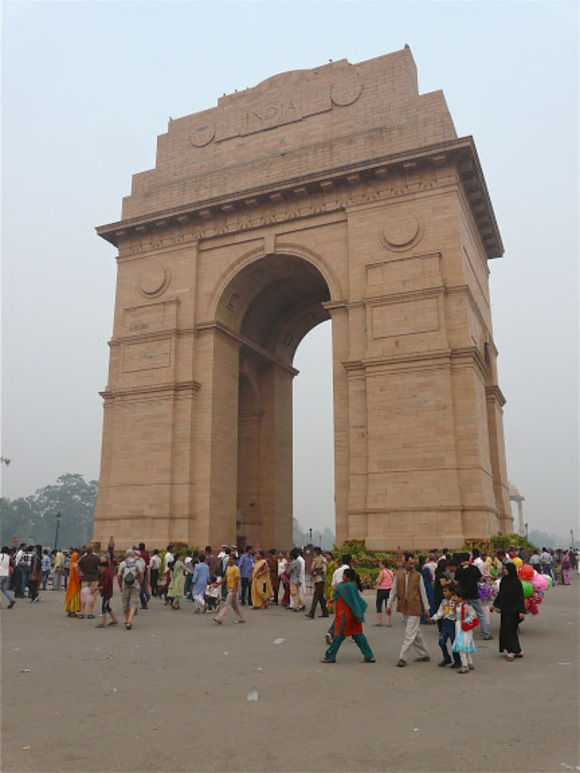 Indian gate à Delhi