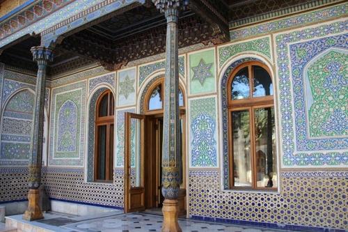 Le musée des arts appliqués de Tashkent