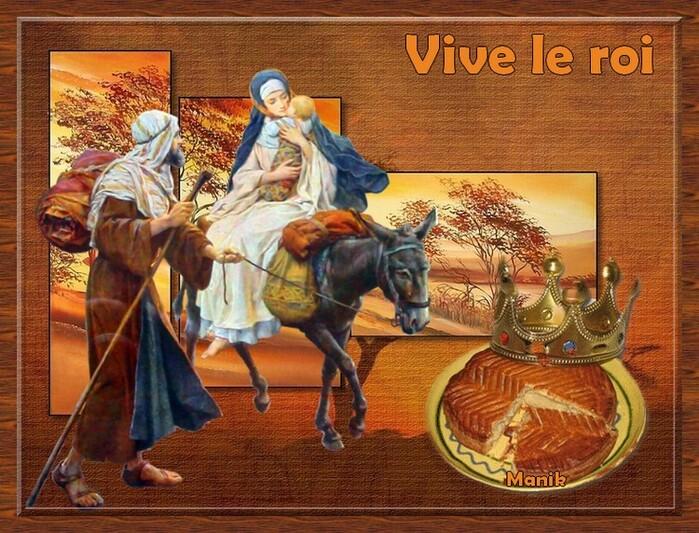 """Défi pour fée capucine """" Vive le roi """""""