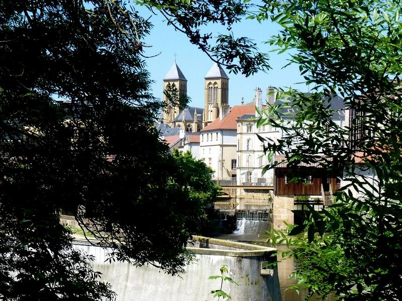 Metz / La basilique Saint-Vincent...