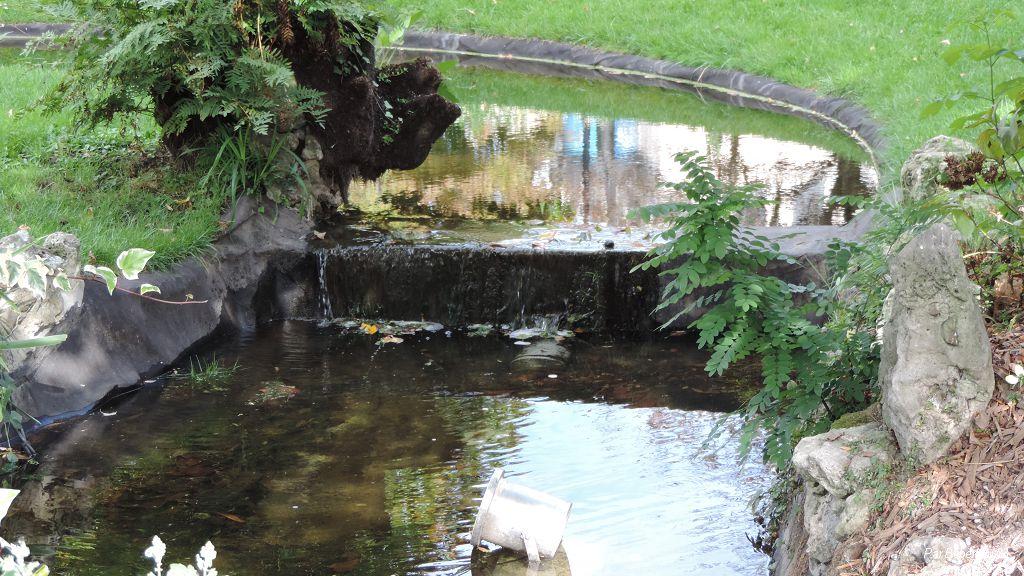le parc de la place Gambetta à Bordeaux