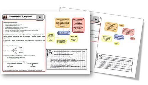 Classeur de leçon de français CM2 - nouvelle version