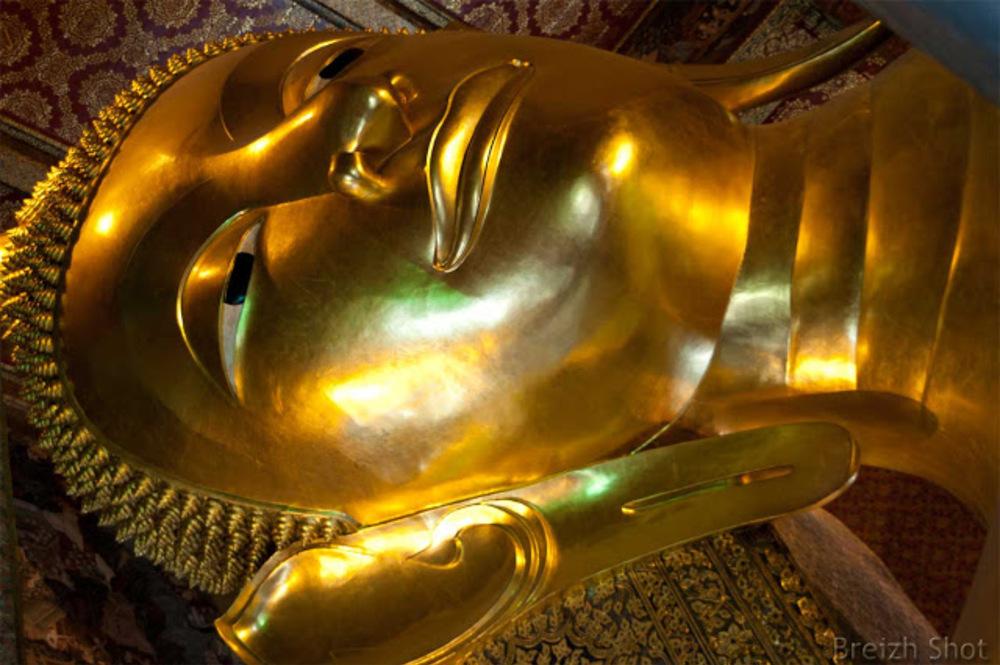 wat pho bouddha couché