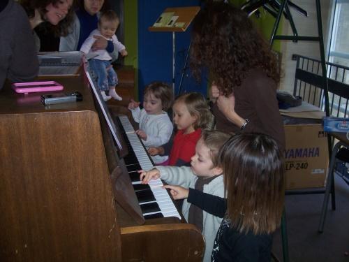 Quand les enfants jouent du piano !