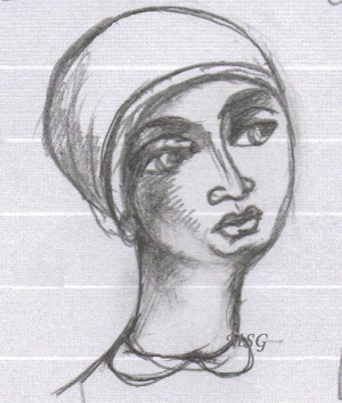 Portraits croqués - sketched portraits