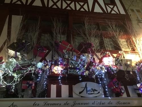 Rouen lumières de Noel