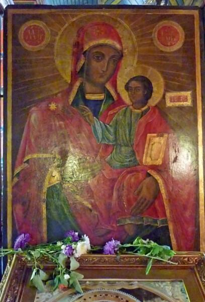 Jour 3 - Bansko l'église icône de la vierge