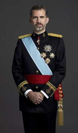 Le roi en octobre 2016.
