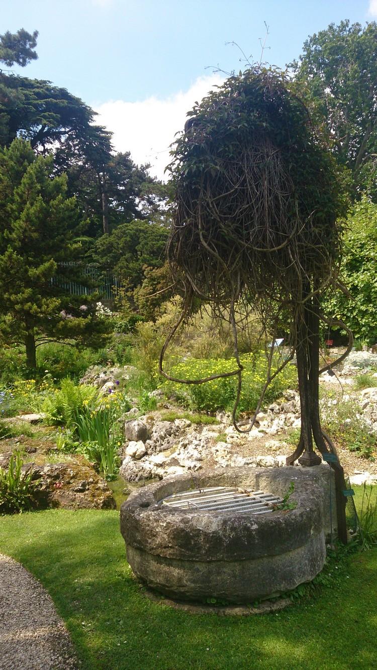 Puits du Jardin des Plantes (jardin alpin)