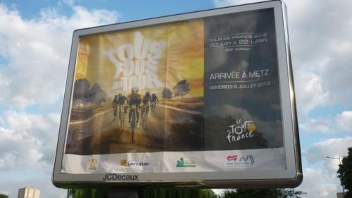 Arrivée à Metz