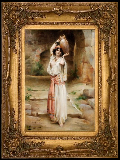 Peintre Adrien H. Tanoux