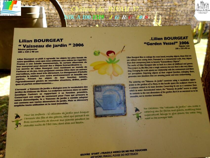 CHÂTEAU & JARDINS DE RIVAU   2/3 - 5/10      D       21/01/2020