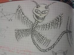 """Dessins du concour : """"Créatures imaginaires"""""""