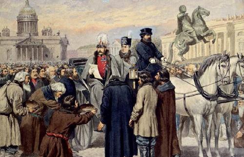 Samedi 28 Novembre 2020: Le servage en  Russie et le « Tsar libérateur »