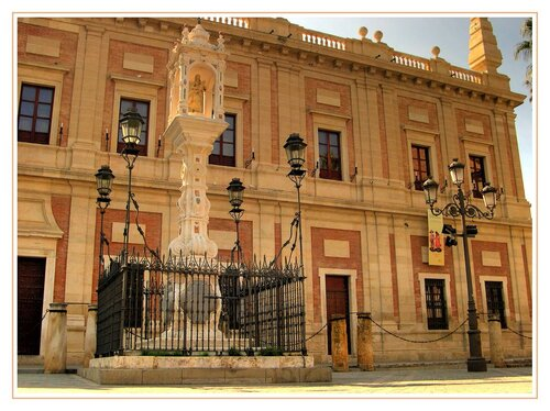 Patrimoine mondial de l'Unesco : l'Alcazar et l'Achivo de Indias à Séville - Espagne - 2eme partie