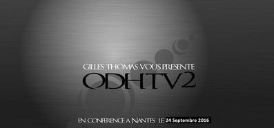 Le 24 septembre 2016, ODH Tv au Repas ufologique de Nantes