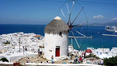 La croisière Odyssée en Gréce sur l'Horizon