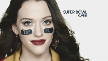 kat dennings superbowl