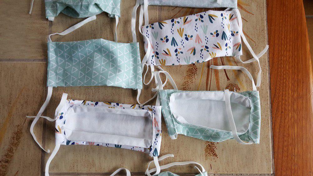 Masques de protection en tissu pour enfants...