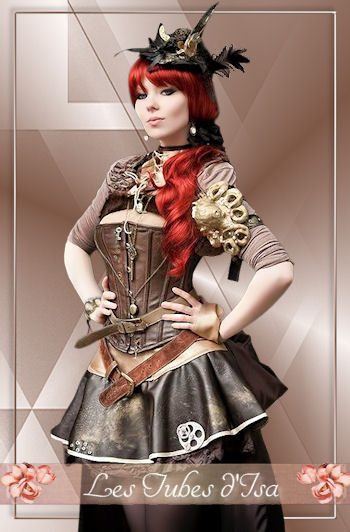 ST0010 - Tube femme steampunk