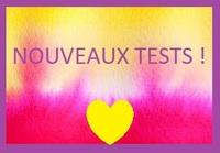 Nouveaux tests