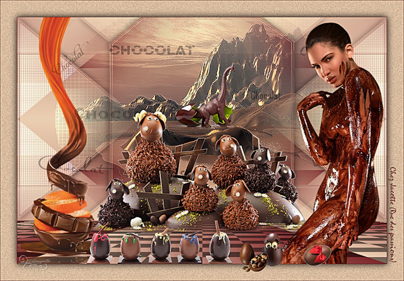 *** Voyage au pays du chocolat ***