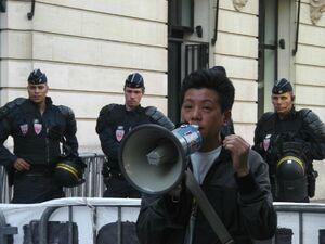 lhakar paris 99year independence Tibet