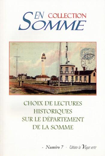 Vient de paraître : Collection En Somme n° 7