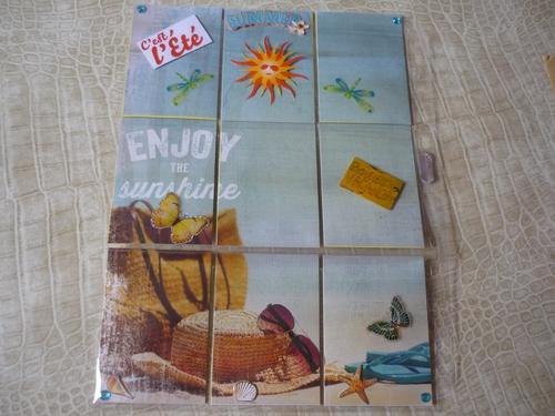 """Ecahnge Pocket Letter: """"Vacances-été"""""""