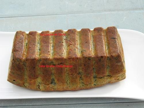 Cake à l'oseille et truite fumée