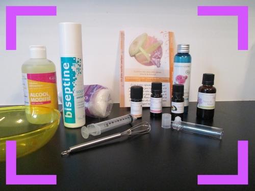 Contour des yeux ~ Anti-cernes ~ Mauve et Avocat ◊ Aroma-zone