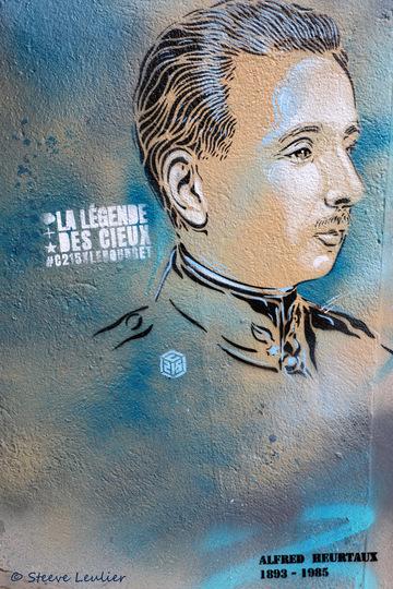 C215 La légende des cieux, Alfred Heurtaux