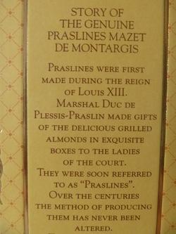 Praslines Mazet