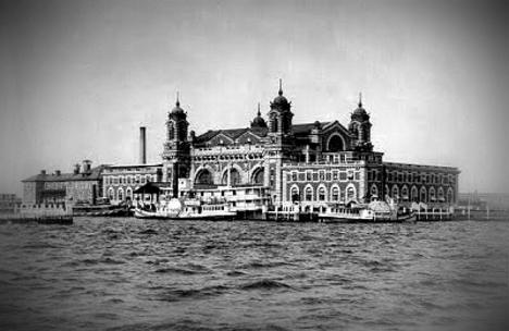 Ellis Island, circa 1901