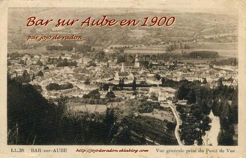 Bar sur Aube en 1900