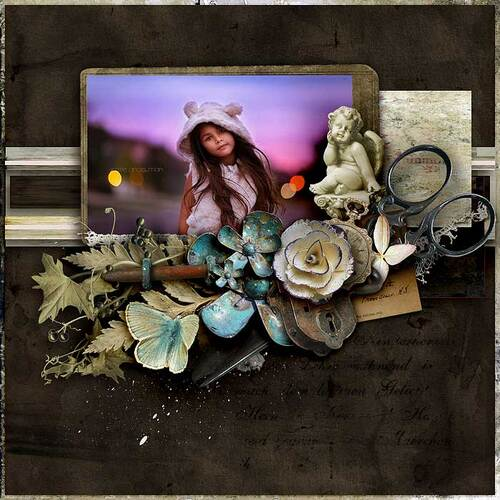 Glory by dentelle scrap