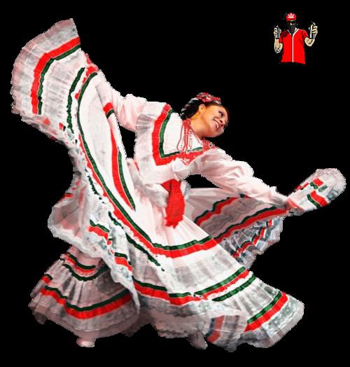 Tube Danseuse mexicaine
