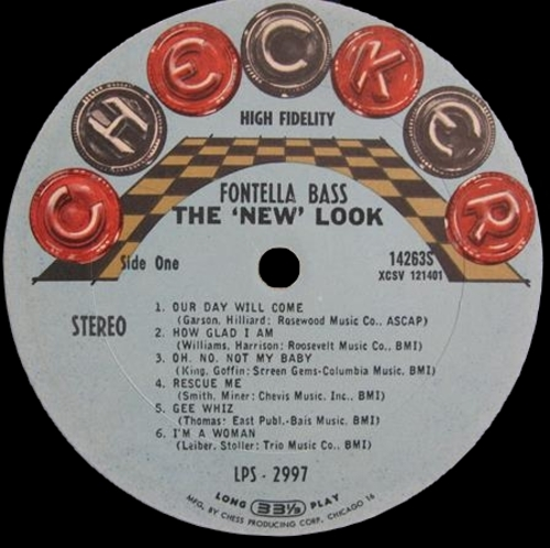"Fontella Bass : Album "" The ' New Look ' "" Cheker Records LP/LPS 2997 [ US ]"