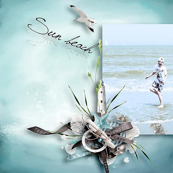 """kit """"la mer"""" de thailiris"""
