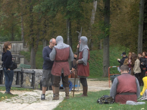 Merlin, Tournage saison 4