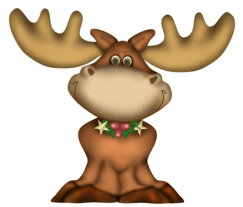 Animaux de Noël Série 8
