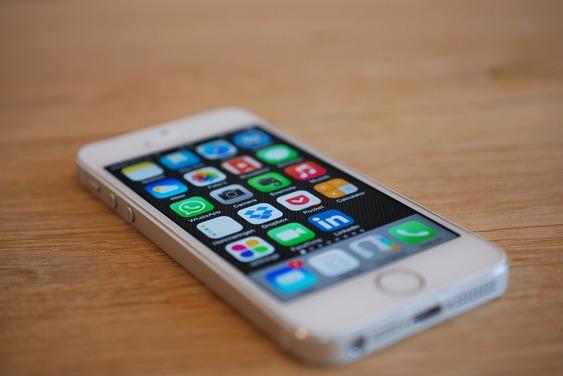 Iphone, Apps, Téléphone, Blanc, Iphone 5 S, Appeler