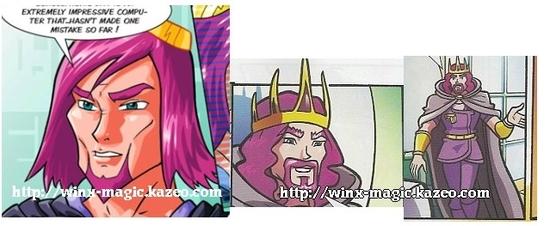 roi cryos dans la bd